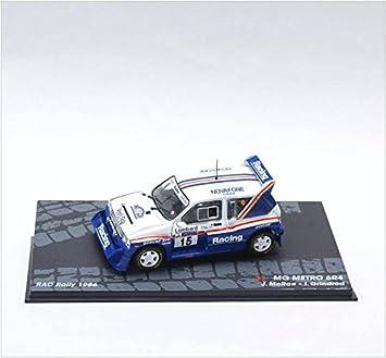 Coches Rally IXO 1:43 1/43 Austin MG Metro 6R4 J.Mcrae-Grindrod 1986 eRAL045: Amazon.es: Juguetes y juegos