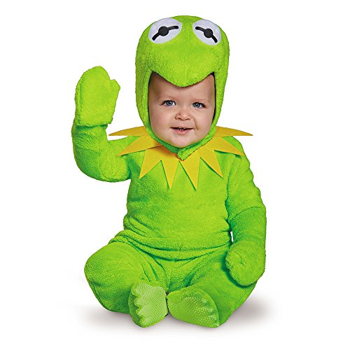 Disguise 88631M Kermit Toddler Costume, Medium (3T-4T)