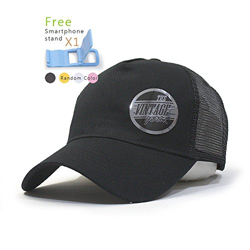 Plain Cotton Twill Mesh Adjustable Snapback Trucker Baseball Cap (Cotton Twill Baseball Hat)