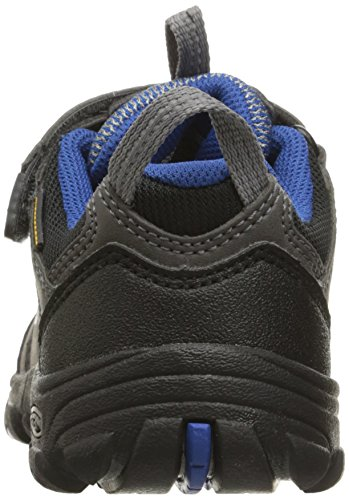 Keen Oakridge Wp, Zapatos de Low Rise Senderismo Unisex Niños Gris (Magnet/true Blue)