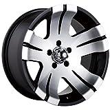 "Ion Alloy 138 Black Machined Wheel (16x8""/6x139.7mm)"
