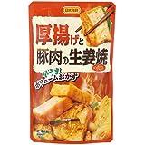 日本食研 厚揚げと豚肉の生姜焼きのたれ 100g×3個