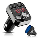 willikiva Car Kit Bluetooth FM Transmitter for Car