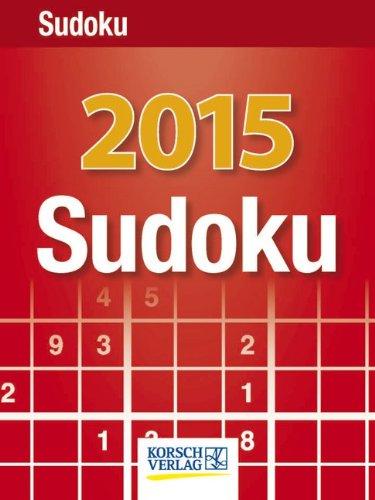 Sudoku 2015: Tages-Abreisskalender