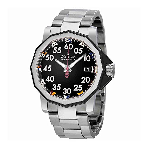 Corum Admiral's Cup Automatic Black Dial Mens Watch A082/03375