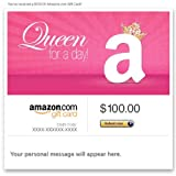 Amazon Gift Card – E-mail – Queen for a Day image