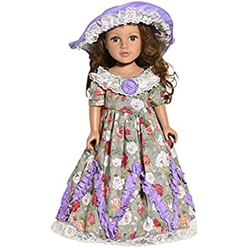15691937bc06 Amazon.com  JELEUON 10 Pcs Lot Party Dress Clothes for 18 inch ...