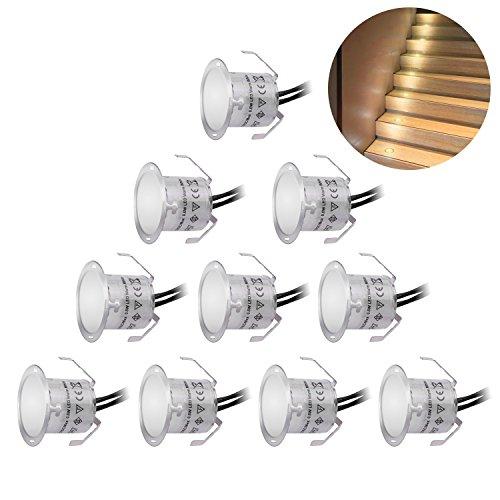 recessed led deck lighting kit. recessed led deck lighting kits 12v low voltage warm white ?22mm waterproof ip 67,led in ground led kit p