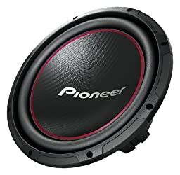 Pioneer TS-W304R 12-Inch Component Subwoofer with 1300 Watts Max Power