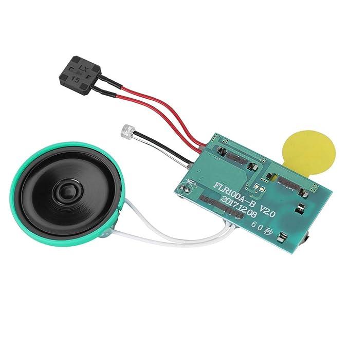 Amazon.com: 60 segundos de grabación DIY tarjeta de ...
