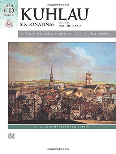 Six Sonatinas, Op. 55: Book & CD (Alfred Masterwork CD (6 Sonatinas Music Book)