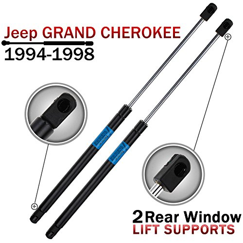 Qty(2) 94-98 Jeep Grand Cherokee Rear Window Lift Support Struts