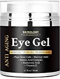 BEST Eye Cream for Dark Circles, Puffiness, Fine Lines, Crow Feet & Under Eye Bags -Skin Firming Eye Gel & Anti Aging Moisturizer for Men & Women 1.7 fl oz by Skinology Cosmeceuticals