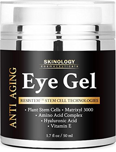BEST Eye Cream for Dark Circles, Puffiness, Fine Lines, Crow Feet & Under Eye Bags -Skin Firming Eye Gel & Anti Aging Moisturizer for Men & Women 1.7 fl oz (Cosmeceuticals Eye)