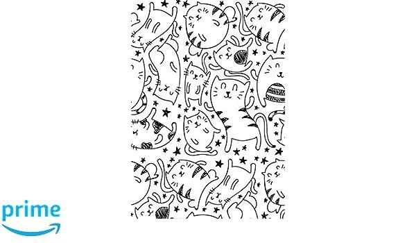 Libretas de Puntos: Cuadernos con Puntos, Cuaderno A5 Puntos, Cuaderno Dot, Cuaderno Dot Grid - Cuaderno Gato #7 - Tamaño: A5 (14.8 x 21 cm) - 110 . ...