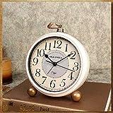 "Maxspace Table Clock, 5.2"" Retro Vintage"