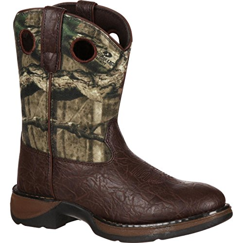 Durango Kids BT250 Lil' 8 Inch Camo,Brown/Mobu Infinity,1 M US Little Kid ()