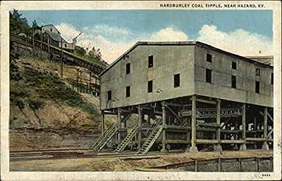 Hardburley Coal Tipple Hazard, Kentucky Original Vintage Postcard