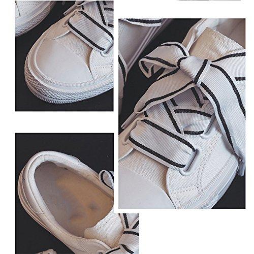 uk6 Nan Retro Scarpe Fashion cn40 Due Bianca 5 Tra Rosa Colori Canvas Colore Donna Eu39 Dimensioni Cui Shoes Scegliere Da Estate qTwdHxrXIw