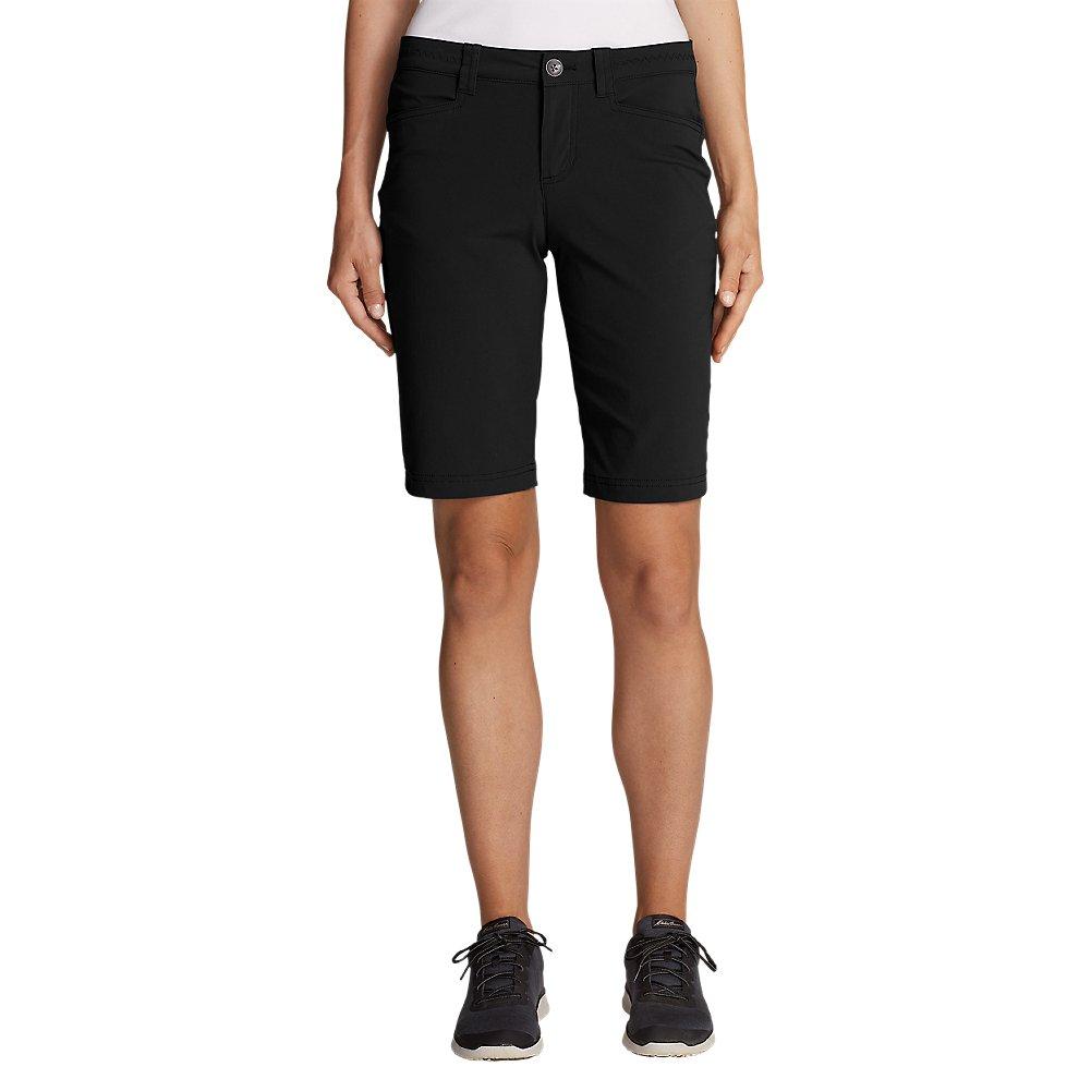 Eddie Bauer Women's Horizon Bermuda Shorts, Black Regular 0