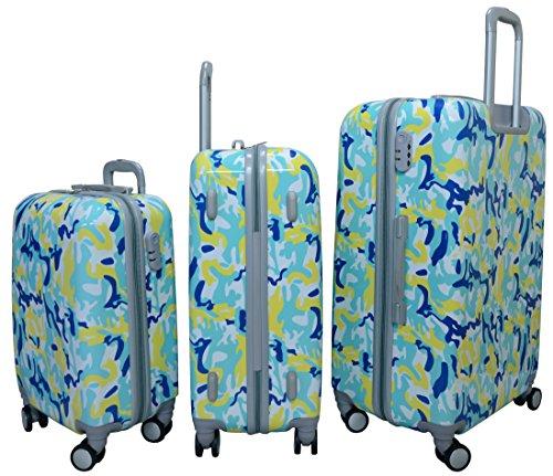29b77d553358 Morano 3-Piece Luggage Travel Set Bag PC Trolley Suitcase (28