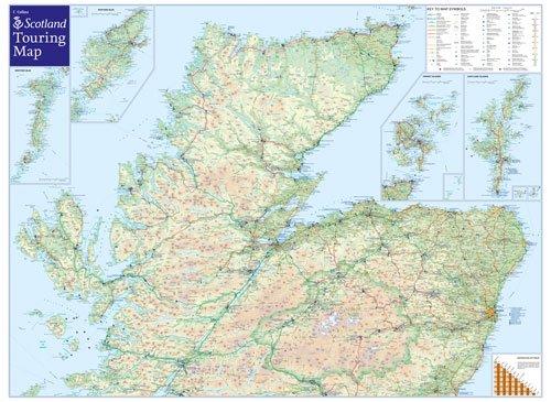 Visit Scotland Touring Map: Amazon.co.uk: Collins Maps ...