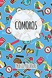Comoros Travel Journal: 6x9 Travel planner I Road trip planner I Dot grid journal I Travel notebook I Travel diary I Pocket journal I Gift for Backpacker