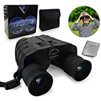 Luiner 10x25 10x25 High Resolution Compact Folding Kids Spotting Scopes