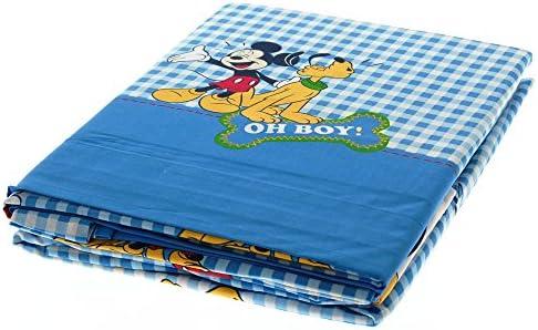 Caleffi sábanas Disney Mickey Mouse y Pluto completo cama ...