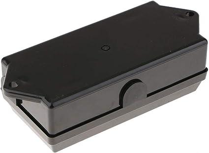Enchufe de Cable de Remolque de 7 Vías Caja de Conexiones Camper Resistente al Clima Cable de Luz Rv: Amazon.es: Coche y moto