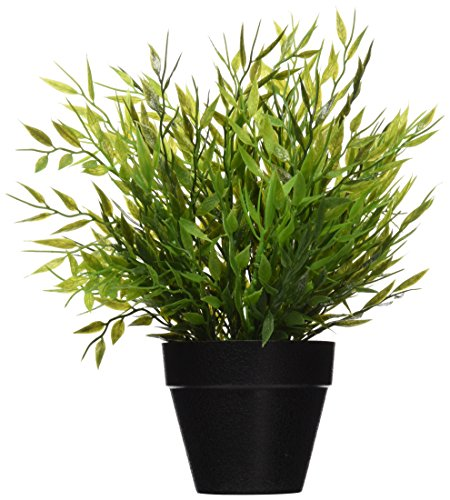 2x Ikea Artificial Potted Plant Bamboo 11' Lifelike Nature Houseplant...