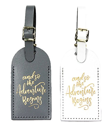 Adventure Luggage Tag, Gray