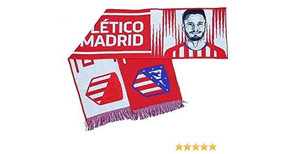 Bufanda Atlético de Madrid - Saul - 8: Amazon.es: Deportes y aire ...