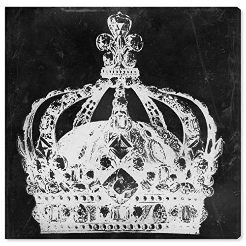 The Oliver Gal Artist Co. Fantasy Wall Art Canvas Prints 'Crown Me' Home Décor, 20