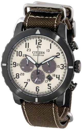 Citizen CA4095 04H Military Stainless Steel