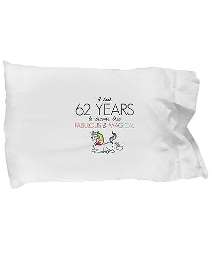 BarborasBoutique 62nd Birthday Pillowcase