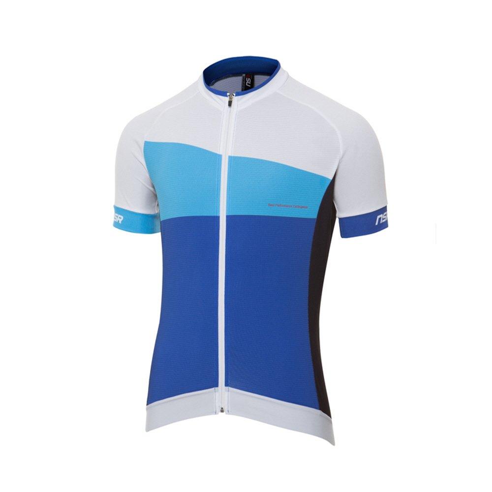 NSR Herren Farbverlauf Short Sleeve Jersey