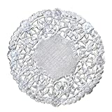 Hygloss Products 50103 10 Inch Foil Round Doilies Silver