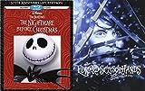 Edward Scissorhands Steelbook Blu Ray 25th Anniversary Exclusive & The Nightmare Before Christmas 20th Edition (Blu-ray + DVD) Tim Burton Fantasy set