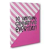 Do Something Creative Everyday Motivational Canvas Wall Art