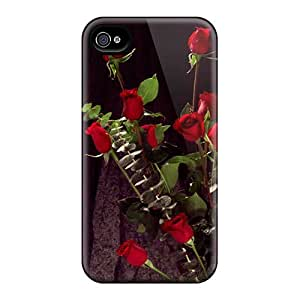 Anglams ITq4446gbFi Protective Case For Iphone 5/5s(bunch Of Red Roses)