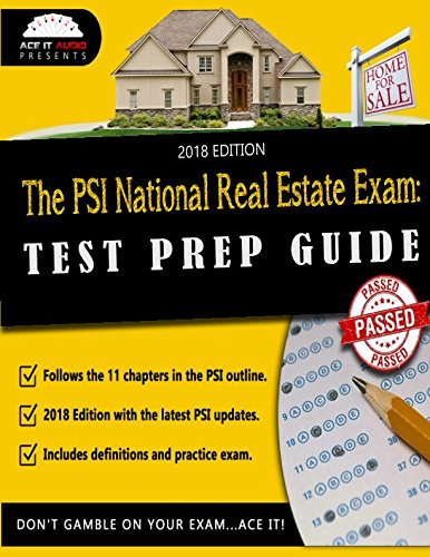 The PSI National Real Estate Exam: Test Prep Guide