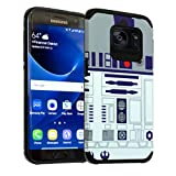 Star Wars Galaxy S7 Active Case, DURARMOR Dual Layer Hybrid Shockproof Slim Fit Armor Case Cover for Galaxy S7 Active - R2D2
