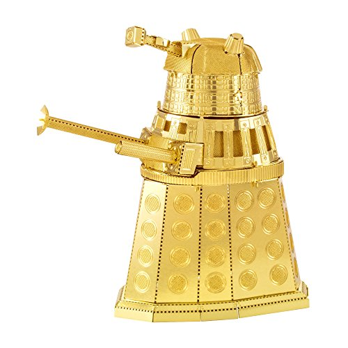 Fascinations Metal Earth Doctor Who Gold Modèle Coupe Laser 3D Dalek