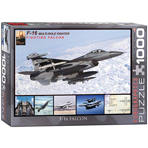 EuroGraphics F-16 Fighting Falcon Puzzle (1000-Piece)