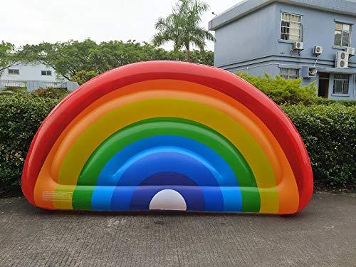 muchas concesiones MOYUGE Inflables para para para Piscina Fila Flotante Rainbow Pool Float Inflable Agua Cama Flotante Cama de Agua Niños Adultos Piscina al Aire Libre Juguete Jugara  Para tu estilo de juego a los precios más baratos.