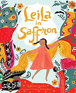 Book Cover: Leila in Saffron