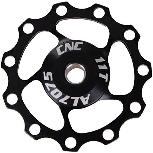 SENQI 11T Bicycle Rear Derailleur Pulley Jockey Wheel for Shimano/Sram/Campagnolo -  ChengDa Cycing CO;LTD, DL001-black