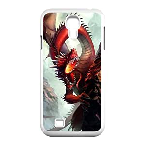 Cell phone case Of Red Dragon Bumper Plastic Hard Case For Samsung Galaxy S4 i9500