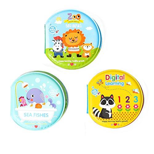 Little Bado Bath Books for Babies Toddlers Waterproof Floati